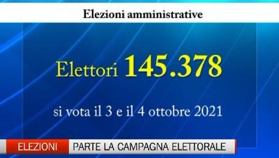 Elezioni amministrative: al voto 145mila elettori