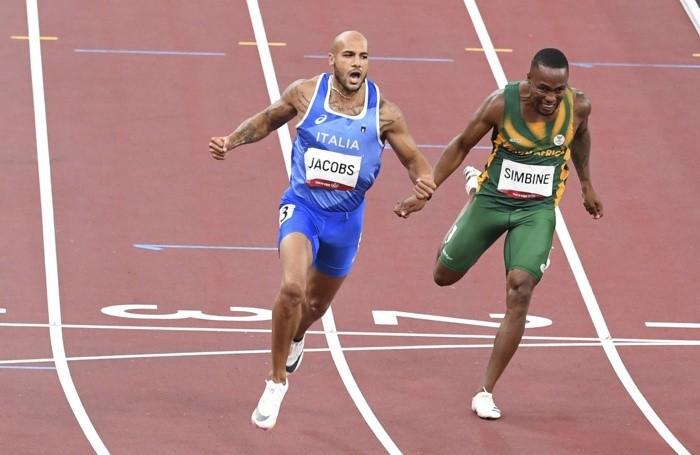 La finale dei 100 metri