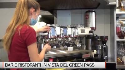Ristoranti e bar si preparano al green pass