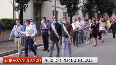 S.Giovanni Bianco: cittadini in strada per difendere l'Ospedale