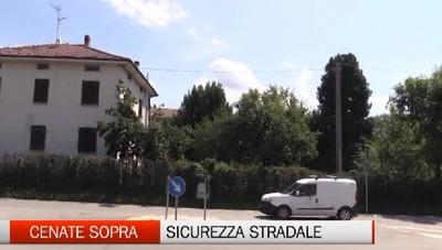Sicurezza stradale a Cenate Sopra, a settembre i lavori.