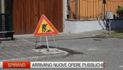 Spirano: partono i cantieri su strade e opere pubbliche