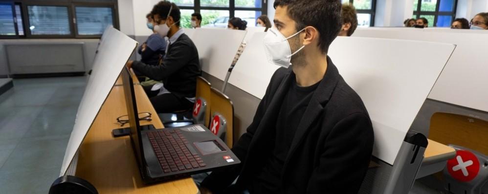 Università di Bergamo, il rettore: «In aula al 100%? Solo con il green pass»