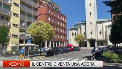 Azzano rivoluziona il centro: in arrivo una nuova area pedonale