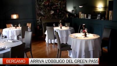 Bergamo: conto alla rovescia per il green pass nei locali