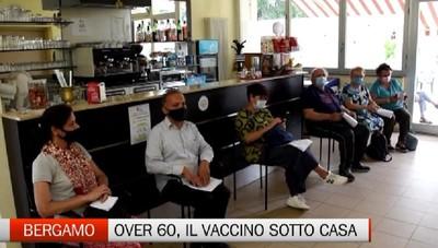 Bergamo - Per gli over60, il vaccino «sotto casa»