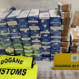 Contrabbando di sigarette, controlli a Orio: sequestri per 100 chili, denunce e multe