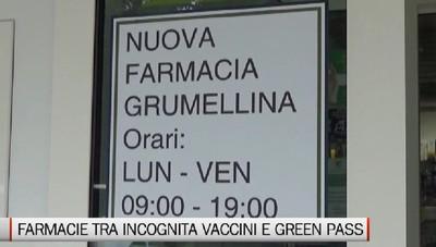 Farmacie tra incognita vaccini e richieste-boom di Green Pass