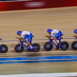 Olimpiadi: ciclismo su pista, il bergamasco Consonni in finale con il record mondiale