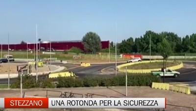 Pronta la nuova rotatoria della zona industriale di Stezzano