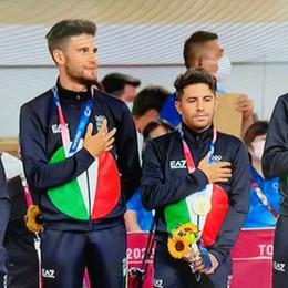 Simone Consonni e l'Italia di ciclismo su pista sono un capolavoro d'oro