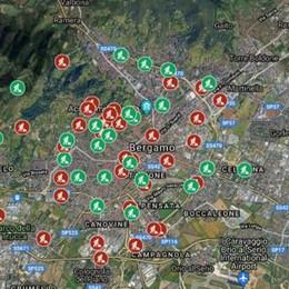 Slalom tra i 46 cantieri stradali di Bergamo: ecco dove sono - La mappa