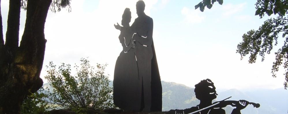Sulle Orobie il «Salto degli sposi»,150 anni fa il tragico episodio
