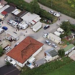 Trescore Balneario, Zanica e Grassobbio: controlli dei Carabinieri nei campi nomadi