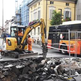Via Tiraboschi, fase 2 per la realizzazione degli attraversamenti: come cambia la viabilità