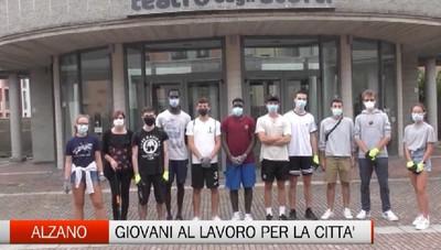 Alzano, i giovani al lavoro per la propria città
