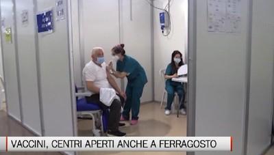 Centri vaccinali attivi anche a Ferragosto