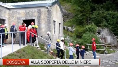 Dossena, le visite guidate nelle miniere