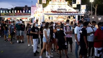 Debutta il Luna Park alla Celadina: e torna la serenità