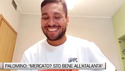 Atalanta, Palomino: Mercato? Sto bene all'Atalanta