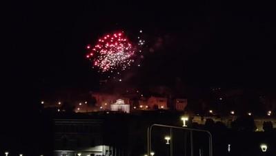 Fuochi d'artificio per Sant'Alessandro