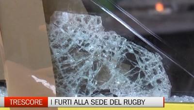 Trescore Balneario, i furti nella sede del rugby