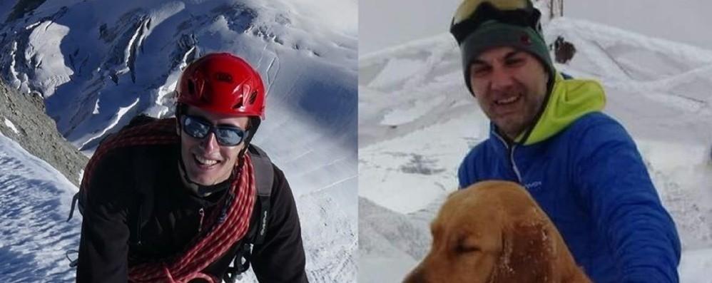Caduti per 350 metri in un crepaccio, morti due alpinisti bergamaschi sul Pizzo Badile