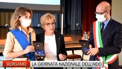 Bergamo, la giornata nazionale dell'Aido