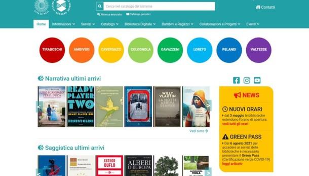 Biblioteche a Bergamo, online il nuovo sito web per prenotazioni e info