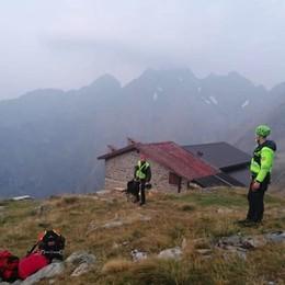 Tre alpinisti in difficoltà sul Redorta, uno con la gamba ferita: portati in salvo - Foto