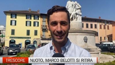 Nuoto, il ritiro di Marco Belotti