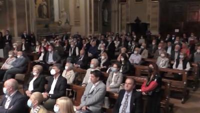 Ponte San Pietro - In mostra il polittico di Vanni Rossi