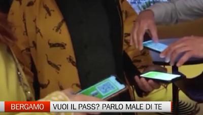 Bergamo - Mi chiedi il Green Pass? Io ti boccio