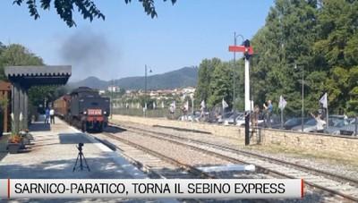 Sarnico-Paratico, il ritorno del treno storico Sebino Express