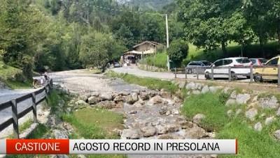 Castione, turismo estivo da record in Presolana