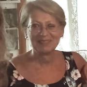 Signora italiana anziani