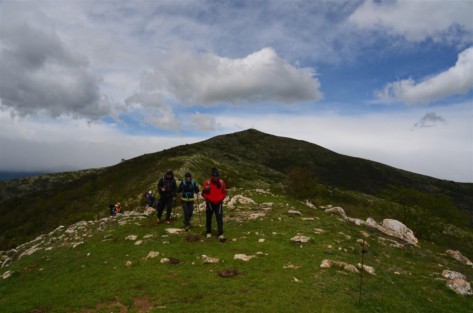 Escursione al monte Corna