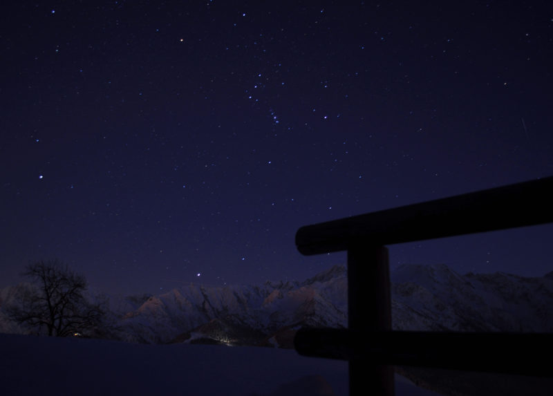 Una serata con le caspole nel Parco dell'Adamello