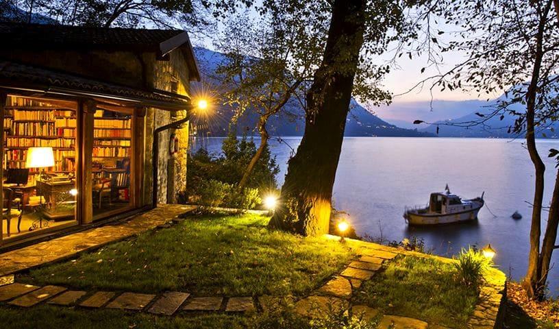 Lago di Como in giallo