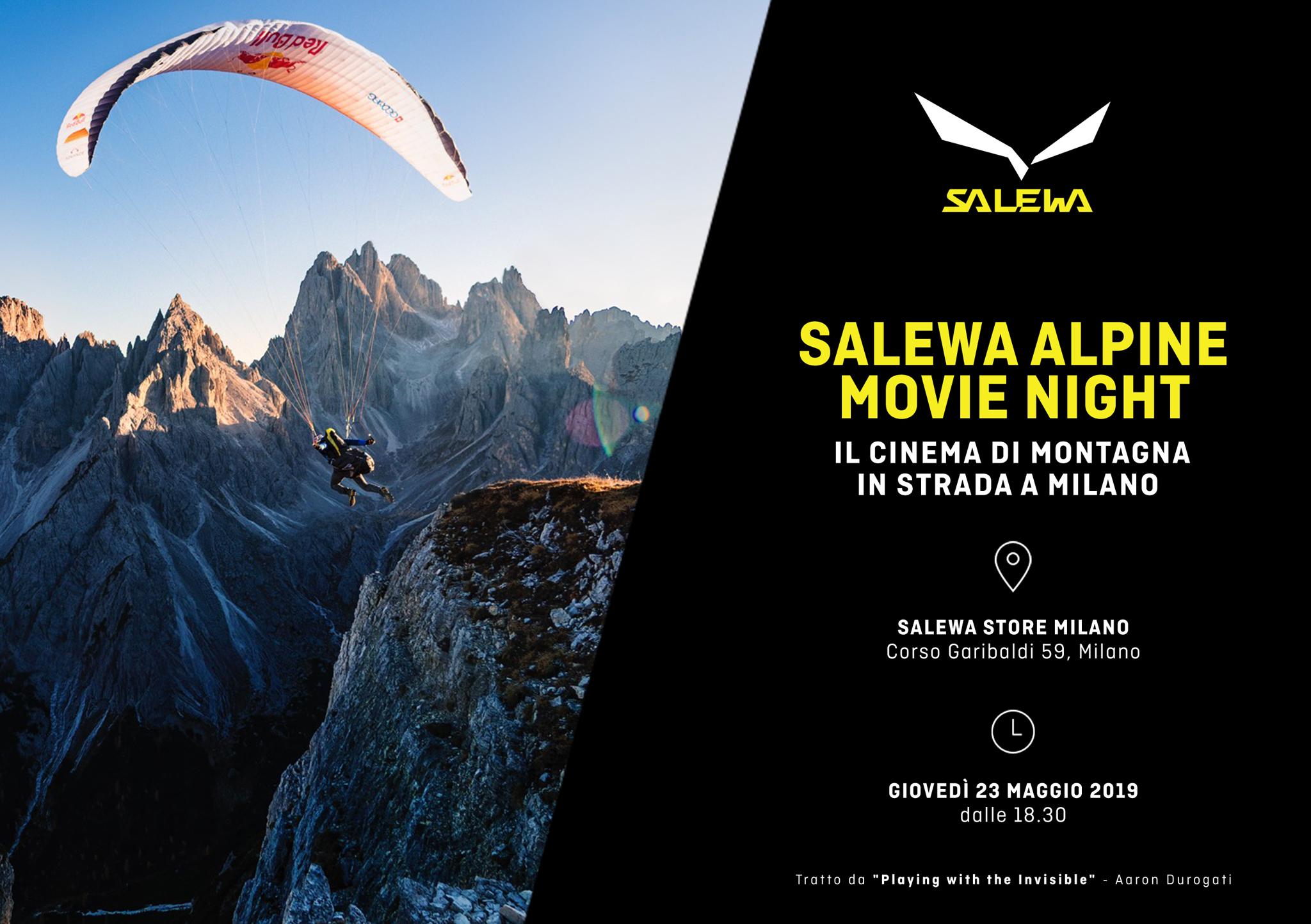 Cinema di montagna a Milano con Salewa