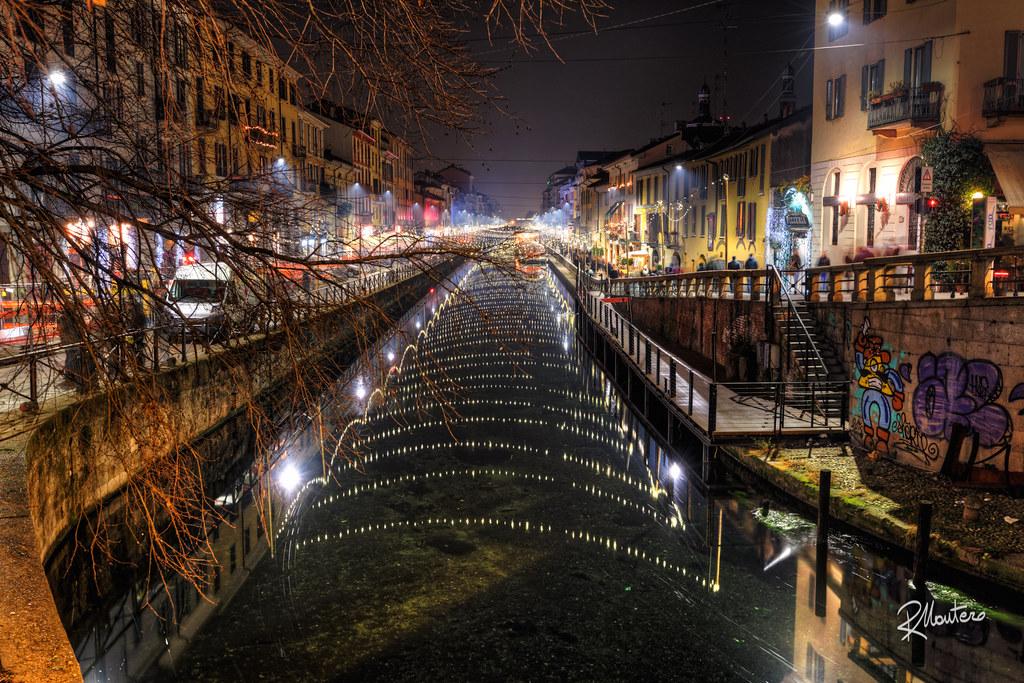 Milano, Note sull'acqua sul Naviglio Grande