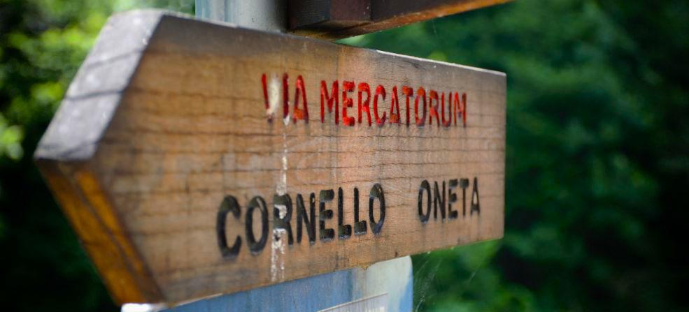Guida alla Via Mercatorum, 40 chilometri tra natura e storia