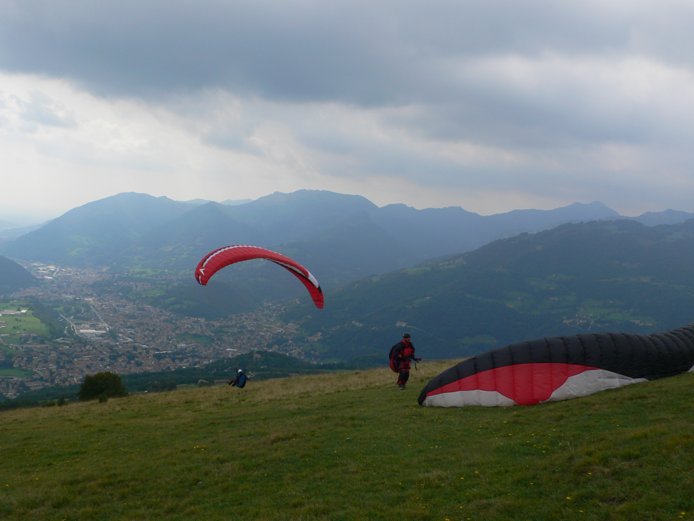 Hike and fly intorno alla Presolana