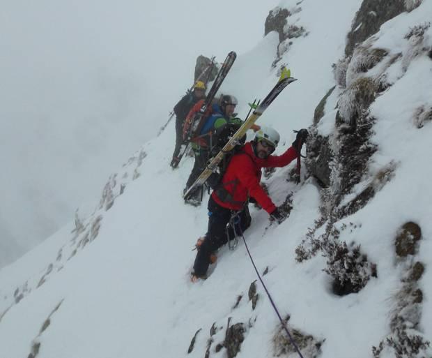 Traversata delle Orobie con gli sci. A Colico il racconto dell'impresa.