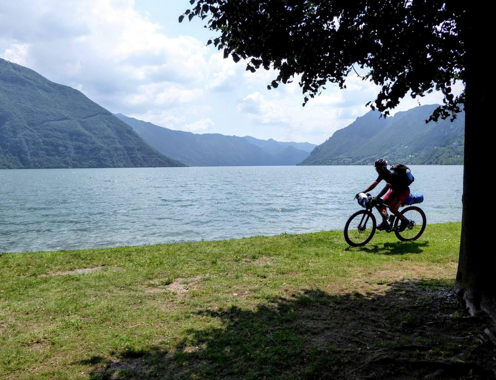Brescia, tutti in bici con Lakiva Trail