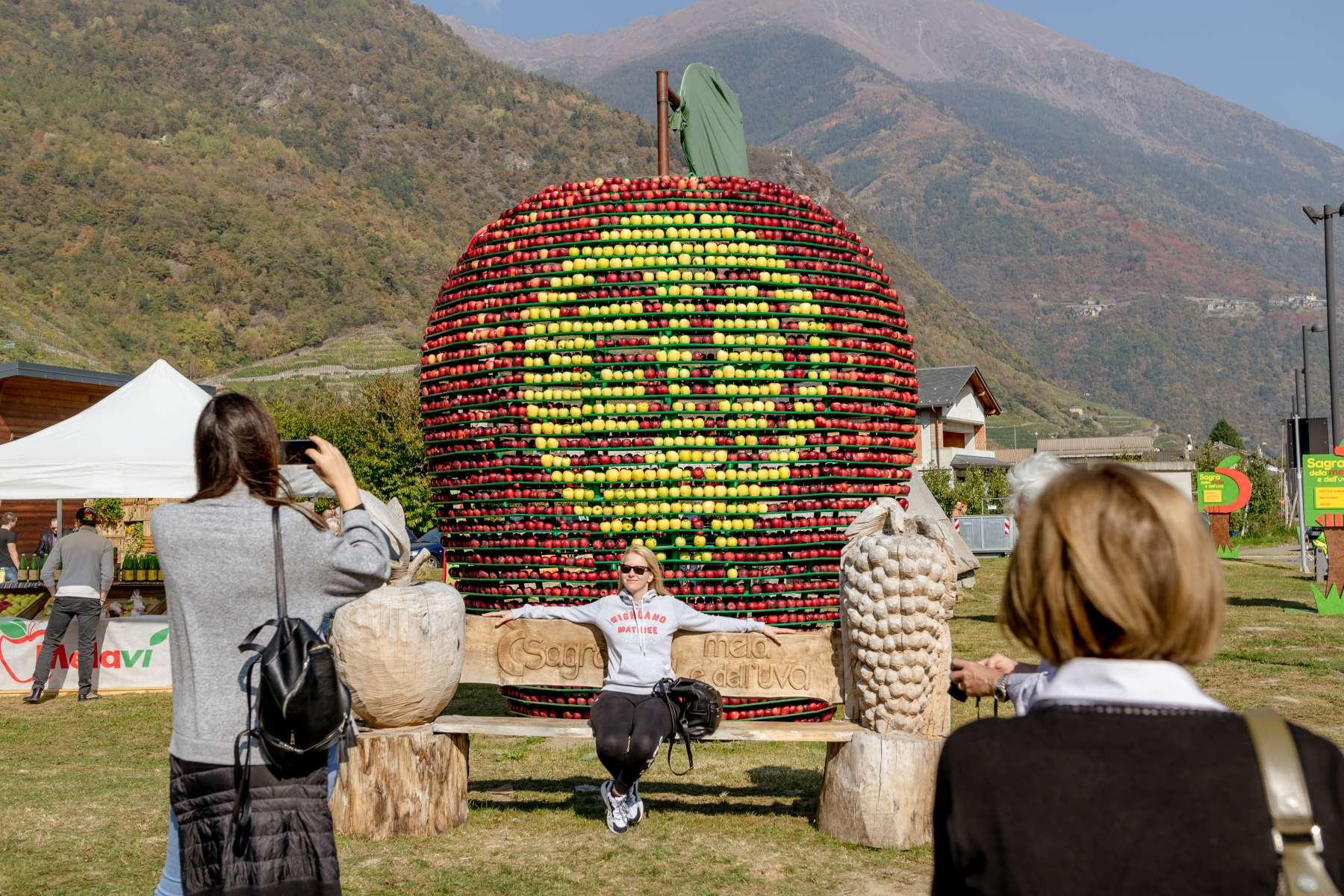 Festa della mela e dell'uva, vertical e sapori