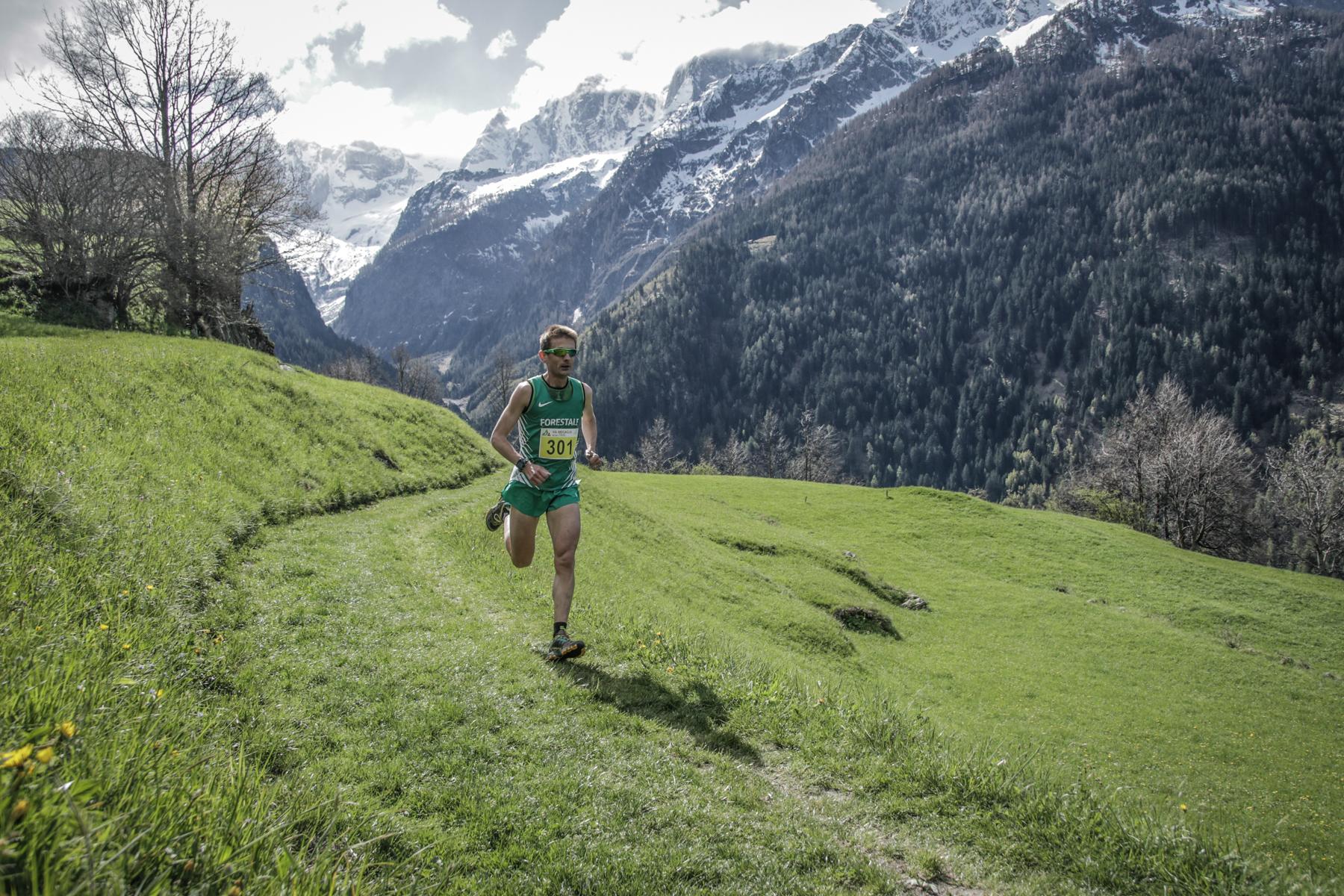 Val Bregaglia trail, percorso modificato