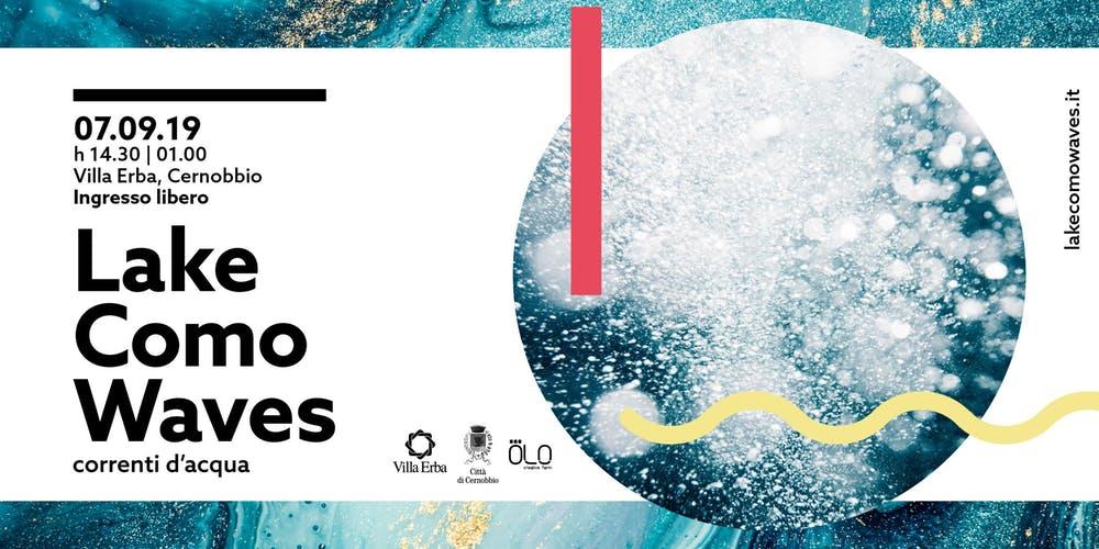 Lake Como Waves - correnti d'acqua, a settembre la prima edizione