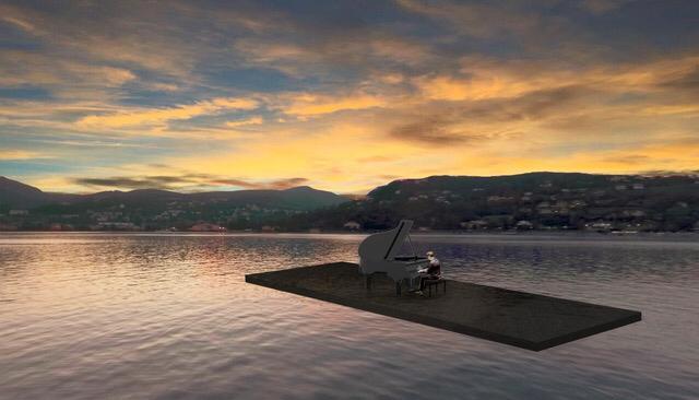 Floating Moving Concerts sul lago di Como