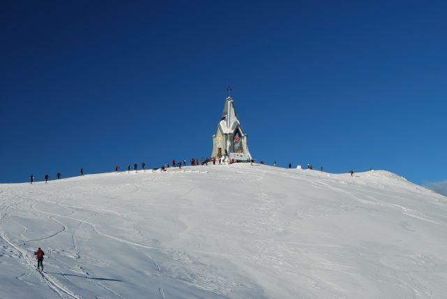 La Rampegada, skialp al monte Guglielmo